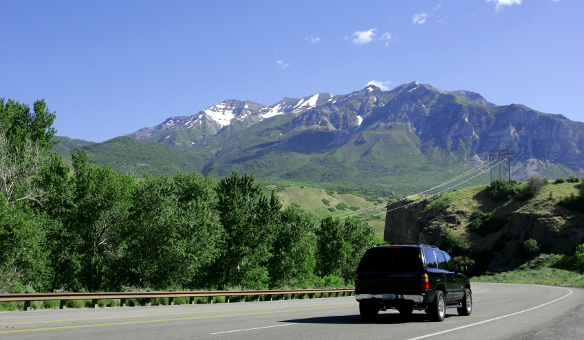 chauffered SUV to New Mexico mountain resorts