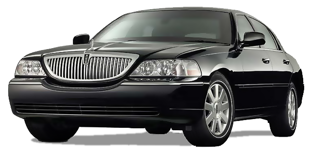 lincoln sedan black car limo service